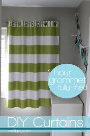 Drapes Grommet Top Lined Grommet Top Curtain Tutorial And New Bekko Home Dec For