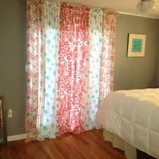 Sewing Drapery Panels Together Mix U0026 Match Panels Could Also Use As Shower Curtain Idea Diy