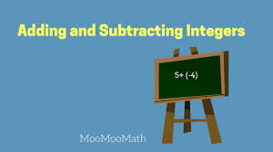adding and subtracting integers 6th grade math youtube