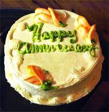 traditional and modern anniversary cake design ideas by