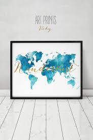 Watercolor Map Of The World by 97 Best Watercolor Maps Images On Pinterest Maps Posters