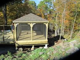 Wooden Screen Gazebos by Gazebos Canada North Country Shedsnorth Country Sheds