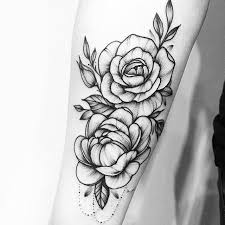 flower tattoos black and white tattoo collections