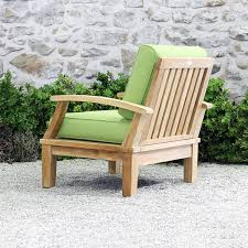 Teak Armchair Ravello Deep Seating Arm Chair Outdoor Furniture Terra Patio