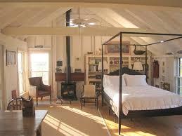 Black Poster Bed Cottage Master Bedroom With Modern Four Poster Bed U0026 Hardwood