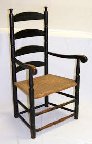 Upright Armchairs Ladder Back Arm Chair In Black Like It Chairs