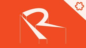 r logo custom letter r logo design without font logo adobe illustrator