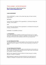 car loan contract template private agreement template agreement