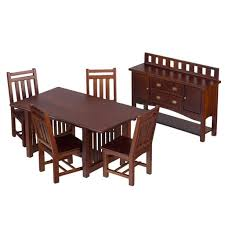 mission style dining room set 9 best my miniature bungalow house images on