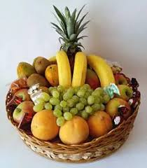 fruit flower basket gift and flower baskets gifts and flowers pretoria