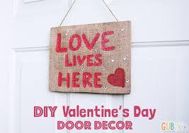 s day decorations diy s day door decor gublife