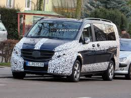luxury minivan mercedes u spy new mercedes benz v class minivan spotted may fill in for