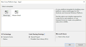 xamarin form template is not showing in the visual studio 2015 new
