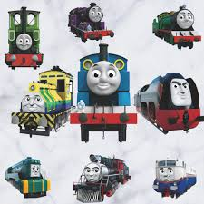 popular thomas wall stickers buy cheap thomas wall stickers lots thomas train wall stickers for children s room removable diy wallpaper decals kids room decor wall decals
