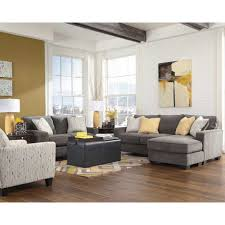living room grey sofa and loveseatyvette loveseat set ashley