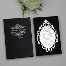 acrylic wedding invitations sle personalized luxury customized acrylic wedding invitation