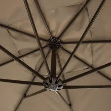 Patio Umbrella Base Replacement Parts by Patio Furniture Hg Gr 3 10ft Hanging Patio Umbrella Sun Shade