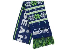 seahawks light up sign seattle seahawks forever collectibles light up ugly sweater scarf