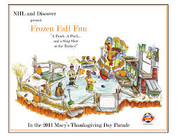 nhl float in macy s thanksgiving day parade will feature 12 foot
