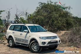 mitsubishi pajero 1996 mitsubishi pajero sport motorbeam indian car bike news review