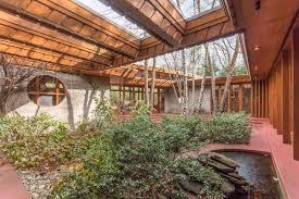 Frank Lloyd Wright Plans For Sale Own Frank Lloyd Wright U0027s Horseshoe Shaped U0027tirranna U0027 Home In New