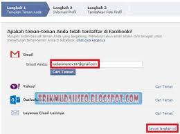 cara membuat akun gmail untuk facebook cara membuat akun dan mendaftar di facebook fb