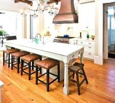 Build Kitchen Island Table Diy Kitchen Island With Seating Rustic Islands 2 Medium