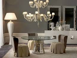 Dining Table Chandelier 40 Glass Dining Room Tables To Revamp With From Rectangle To Square