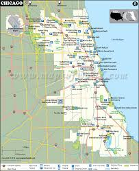 map usa chicago states cities chicago map map of chicago neighborhoods chicago illinois map