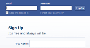 Fb Login Sign Up Create Your Account Now