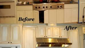 Can You Paint Over Kitchen Cabinets by You Can Paint Laminate Cabinets Exitallergy Com
