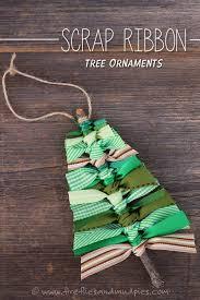 handmade tree ornaments remake nostalgic 50s