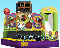 chicago party rentals chicago combo rentals chicago il bounce house moon jump