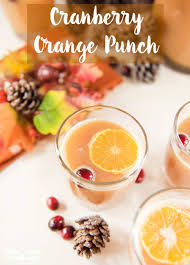cranberry orange punch sprinkle some