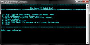 tutorial android multi tool tutorial toolkit nexus 5 multi tool root tweaks backup system