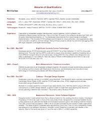 resume summary example resume example and free resume maker