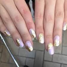 metallic nail foil wraps glamspiration get a gilded manicure with nail rock nail foil