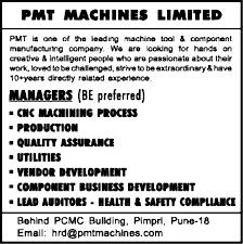good resume for accounts manager job in chakan midc jobs in pmt machines ltd vacancies in pmt machines ltd