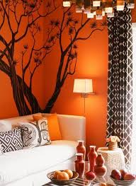 Brown Red And Orange Home Decor Brown And Orange Living Room Ideas Indelink Com