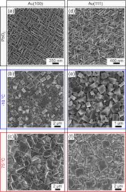 plan view sem images of as deposited pbo2 a and d and