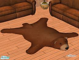 windkeeper u0027s faux teddy bear skin rug