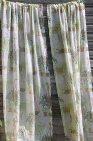 Vintage Green Curtains Vintage Curtains Drapes U0026 Drapery Fabric U0026 Hardware