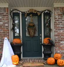 halloween light decoration ideas decorating ideas killer front porch decoration using single light