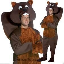 c910 nice beaver mascot animal halloween fancy dress party