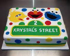 sesame street cake birthday cake elmo cookie monster birthday