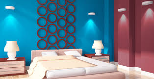 blue colour shades ideas for interior wall paint berger paints