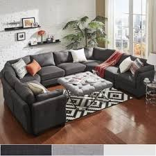 U Shaped Sectional Sofa U Shape Sectional Sofas For Less Overstock
