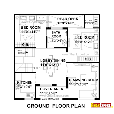 House Planing House Plan For 31 Feet By 31 Feet Plot Plot Size 107 Square Yards