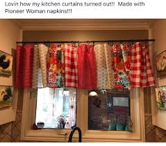 diy kitchen curtain ideas the pioneer woman u0027s linens gone wild nifty winter and window