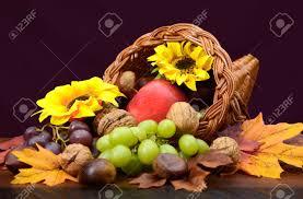 cornucopia centerpiece thanksgiving cornucopia wicker horn of plenty centerpiece with